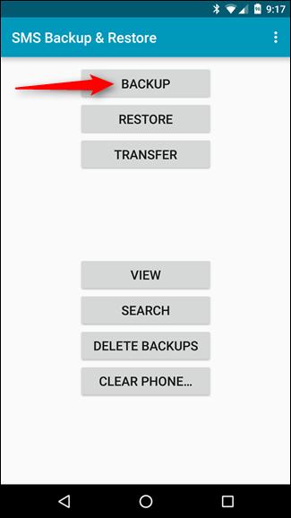 Backup tin nhắn SMS vào email, Dropbox, Google Drive ảnh 2