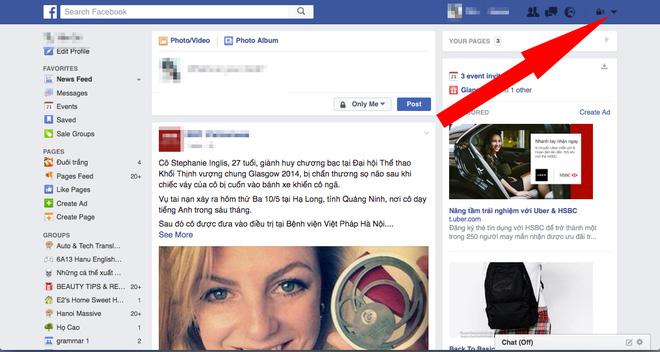 Cách xóa sổ quảng cáo phiền toái trên mạng xã hội Facebook ảnh 1