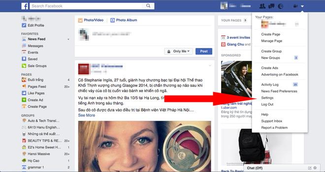 Cách xóa sổ quảng cáo phiền toái trên mạng xã hội Facebook ảnh 2