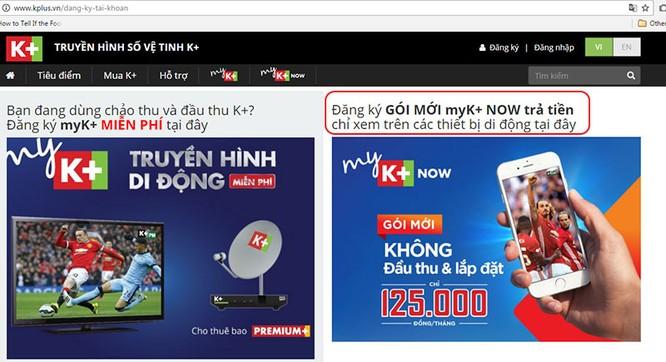 """""""Trên tay"""" dịch vụ myK+ NOW: xem bóng đá trên di động qua Wi-Fi và 3G ảnh 2"""