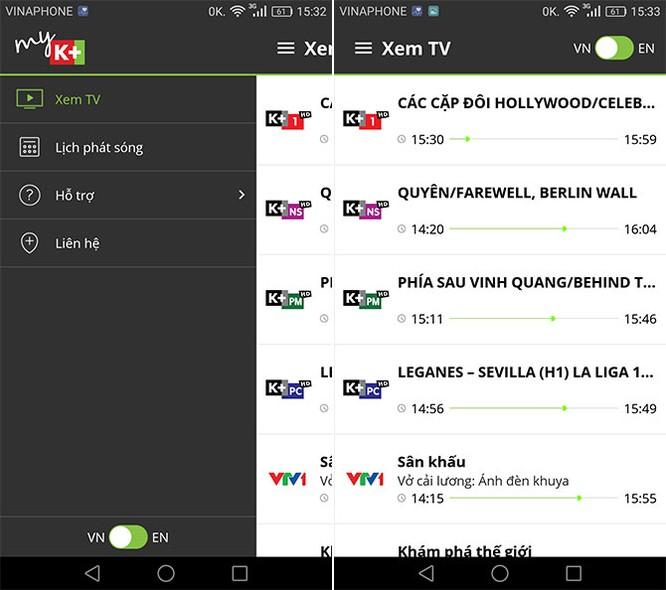 """""""Trên tay"""" dịch vụ myK+ NOW: xem bóng đá trên di động qua Wi-Fi và 3G ảnh 8"""