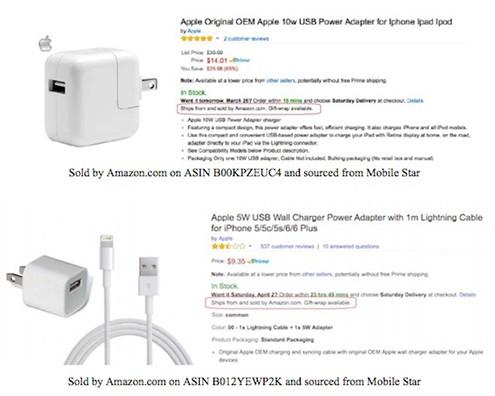 90% phụ kiện iPhone bán trên Amazon là hàng nhái ảnh 1