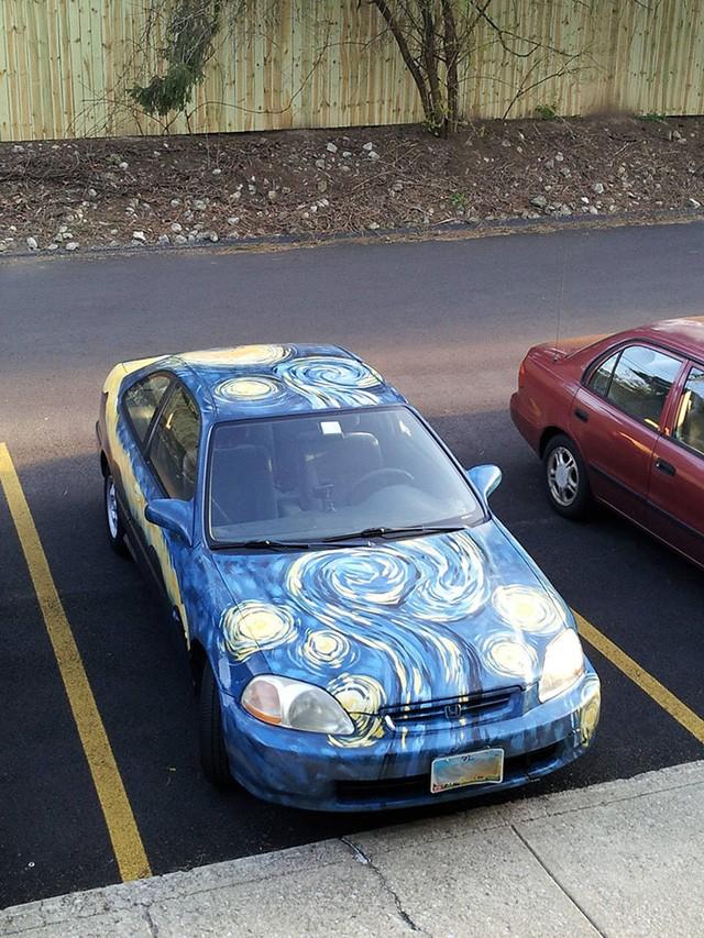 """""""Ngả mũ"""" trước những cách trang trí ô tô sáng tạo và hài hước ảnh 12"""