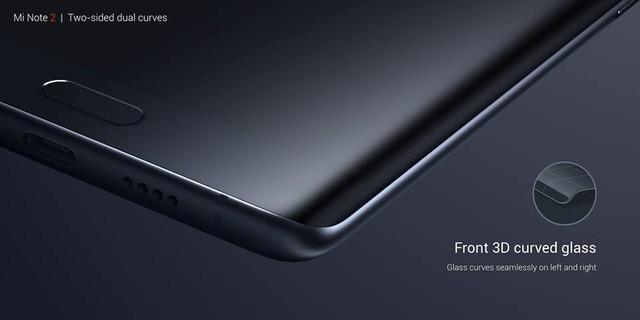 Xiaomi Mi Note 2 chính thức: màn hình cong giống Note 7, camera 22.56 MP ảnh 1