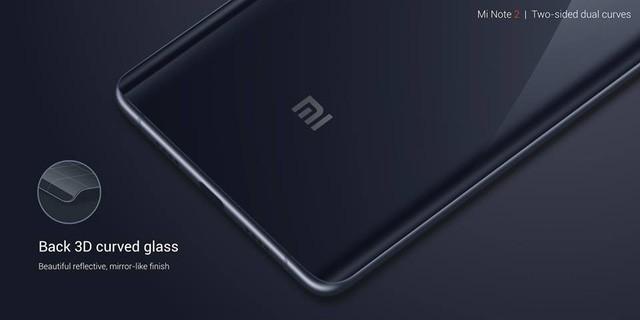 Xiaomi Mi Note 2 chính thức: màn hình cong giống Note 7, camera 22.56 MP ảnh 2