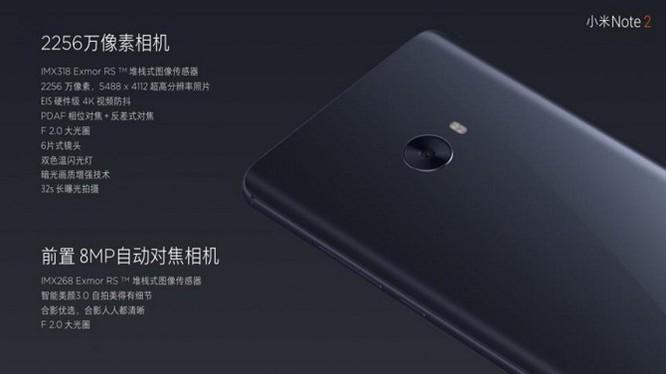 Xiaomi Mi Note 2 chính thức: màn hình cong giống Note 7, camera 22.56 MP ảnh 5