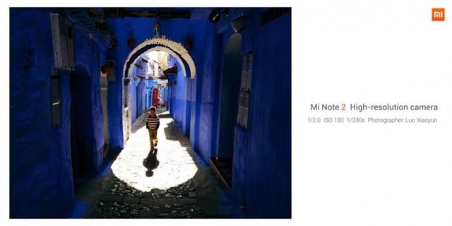 Xiaomi Mi Note 2 chính thức: màn hình cong giống Note 7, camera 22.56 MP ảnh 6