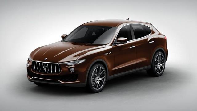 Maserati Levante màu độc xuất hiện tại Việt Nam ảnh 1