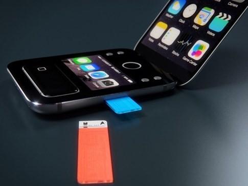 Apple bí mật thử nghiệm mẫu iPhone nắp gập? ảnh 1