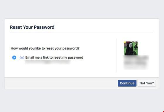 3 bước giúp lấy lại mật khẩu Facebook ảnh 2
