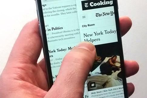 Những thao tác chạm ngón tay bí ẩn có trên iPhone ảnh 1