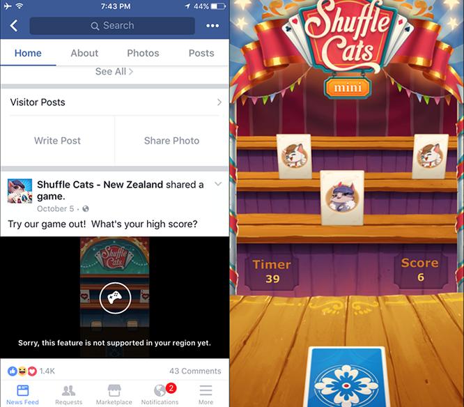 """Facebook và kế hoạch âm thầm trở lại """"đánh chiếm"""" làng game ảnh 2"""