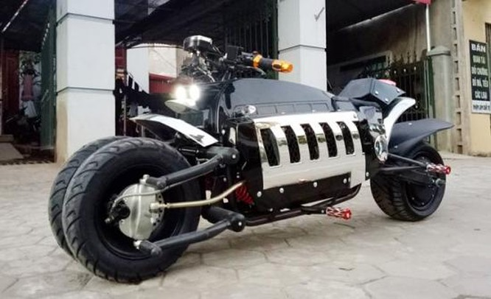 """Môtô """"nhái"""" Dodge Tomahawk có mặt ở Việt Nam ảnh 4"""