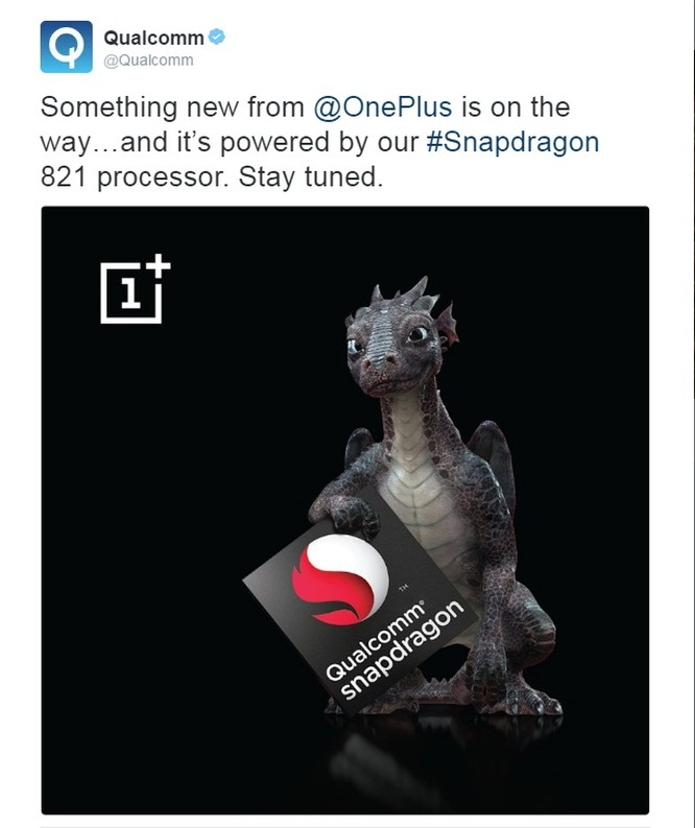 OnePlus 3T tích hợp vi xử lý Snapdragon 821, ra mắt ngày 15/11 ảnh 1