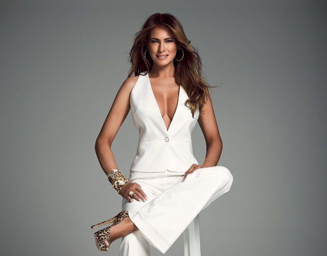 Hình ảnh quyến rũ của vợ Donald Trump khi làm mẫu ảnh 4