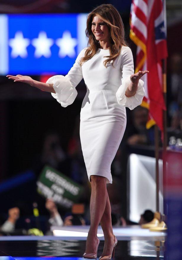 Gu thời trang gợi cảm của vợ và con gái Donald Trump ảnh 6