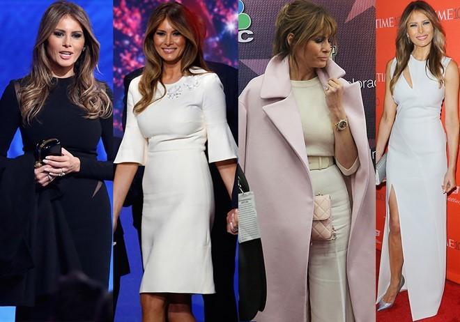 Gu thời trang gợi cảm của vợ và con gái Donald Trump ảnh 8
