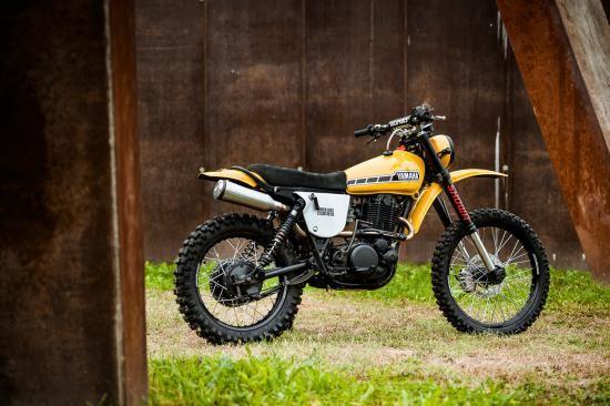 North East Custom hồi sinh Yamaha XT500 ảnh 1