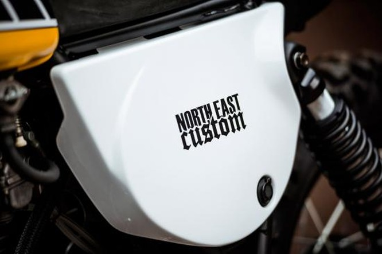 North East Custom hồi sinh Yamaha XT500 ảnh 2