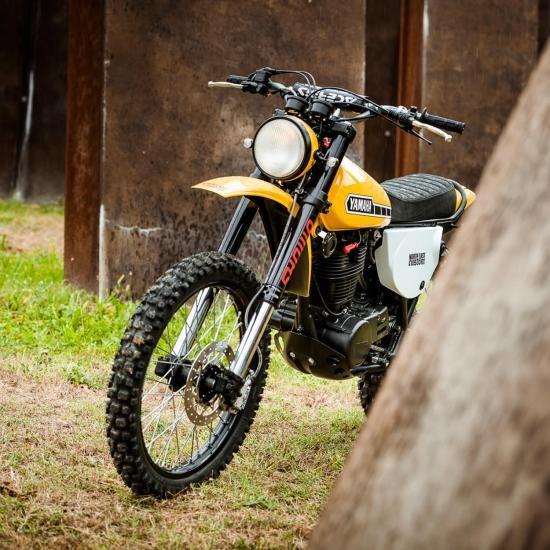 North East Custom hồi sinh Yamaha XT500 ảnh 3
