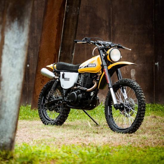 North East Custom hồi sinh Yamaha XT500 ảnh 4