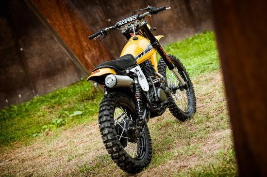 North East Custom hồi sinh Yamaha XT500 ảnh 8