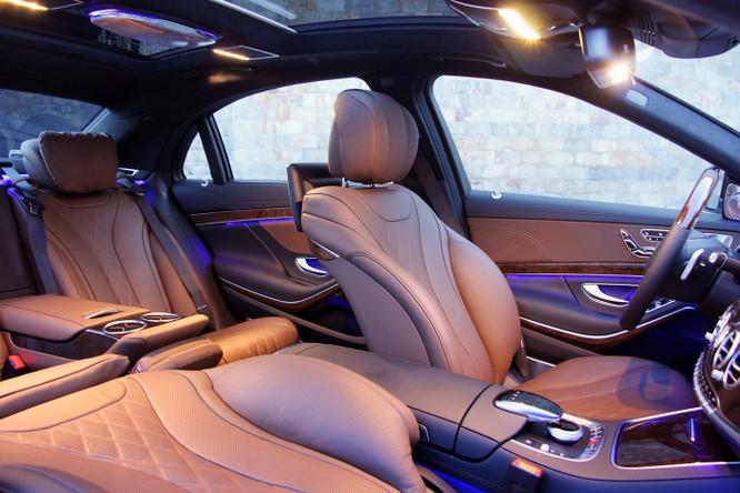 Khám phá đẳng cấp Mercedes S-Class phục vụ hệ thống Vinpearl ảnh 2
