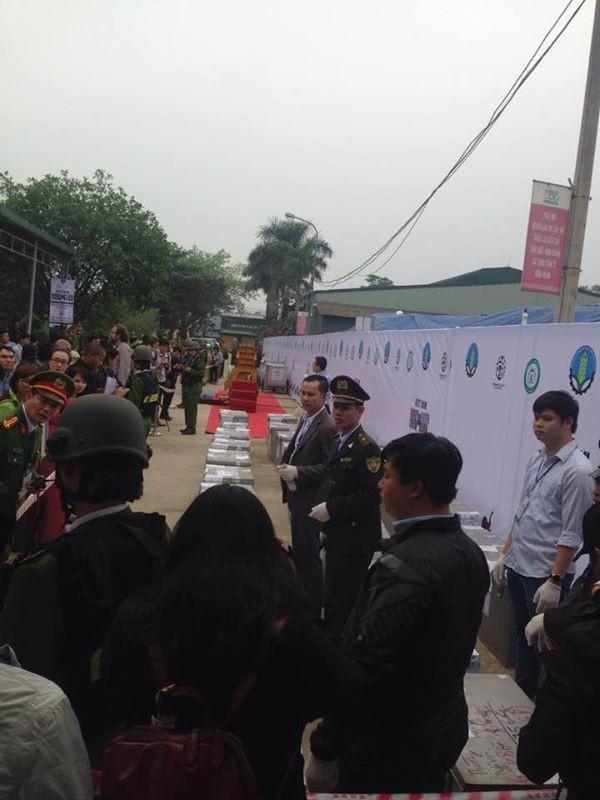 Chiều nay, chính thức tiêu huỷ 2 tấn ngà voi tại Sóc Sơn-Hà Nội ảnh 3