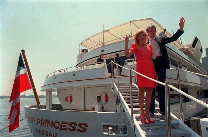 Những bóng hồng trong cuộc đời Tổng thống đắc cử Trump ảnh 2