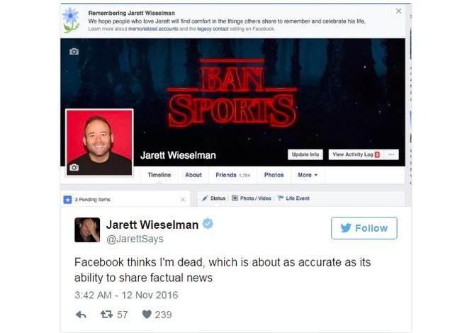 """Facebook vô tình """"báo tử"""" hàng ngàn người dùng do gặp lỗi ảnh 1"""