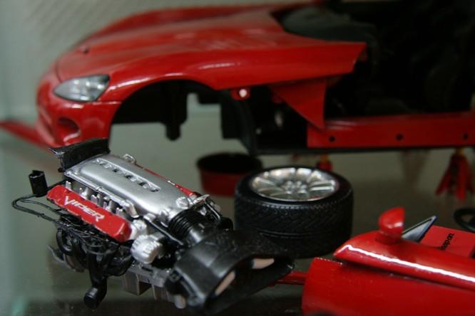 Diorama Garage: Sở thích đậm chất nghệ thuật dành cho fan xe ảnh 4