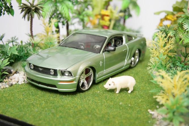 Diorama Garage: Sở thích đậm chất nghệ thuật dành cho fan xe ảnh 2