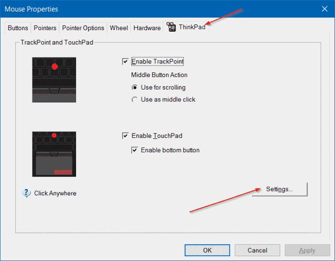 Thay đổi hướng cuộn trang của Touchpad trên Windows 10 ảnh 2