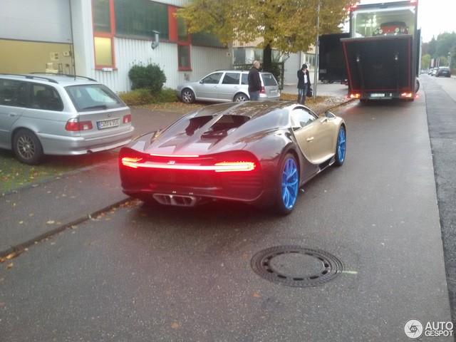 Chiếc siêu xe Bugatti Chiron xấu xí nhất từ trước đến nay ảnh 1