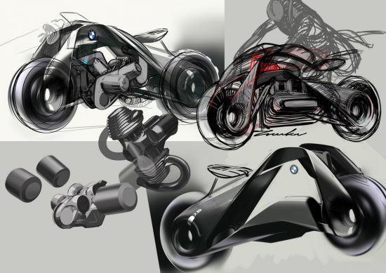 Mô tô BMW Vision Next 100 đến từ tương lai ảnh 10
