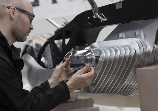 Mô tô BMW Vision Next 100 đến từ tương lai ảnh 12