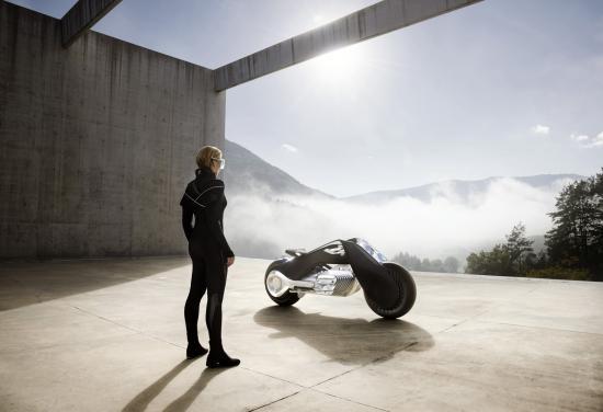 Mô tô BMW Vision Next 100 đến từ tương lai ảnh 6