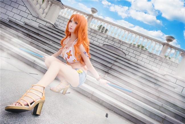 Cùng ngắm bộ ảnh cosplay tuyệt đẹp về cô nàng Nami trong One Piece ảnh 4
