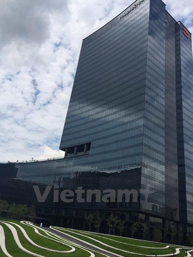 """""""Đột kích"""" văn phòng mới đầy ấn tượng của Google tại Singapore ảnh 2"""
