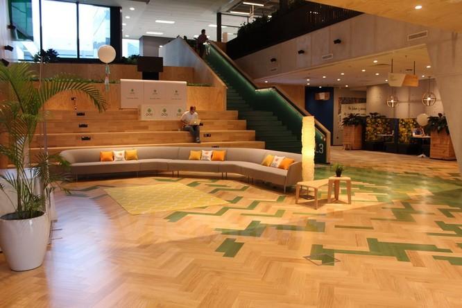 """""""Đột kích"""" văn phòng mới đầy ấn tượng của Google tại Singapore ảnh 7"""