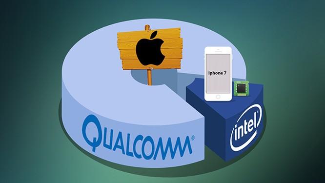 """Apple """"khống chế"""" tốc độ chip LTE Qualcomm trên iPhone 7 ảnh 1"""