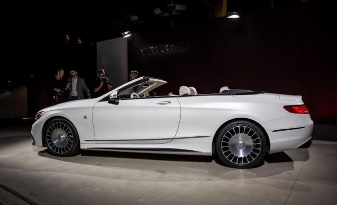 Đánh giá xe Mercedes Maybach S650 Cabriolet ảnh 2