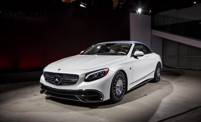 Đánh giá xe Mercedes Maybach S650 Cabriolet ảnh 1