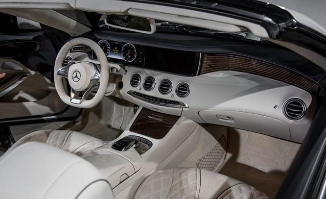 Đánh giá xe Mercedes Maybach S650 Cabriolet ảnh 3