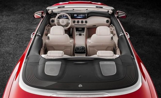 Đánh giá xe Mercedes Maybach S650 Cabriolet ảnh 4
