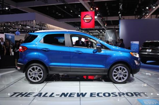 Ford EcoSport 2018 chính thức ra mắt ảnh 1