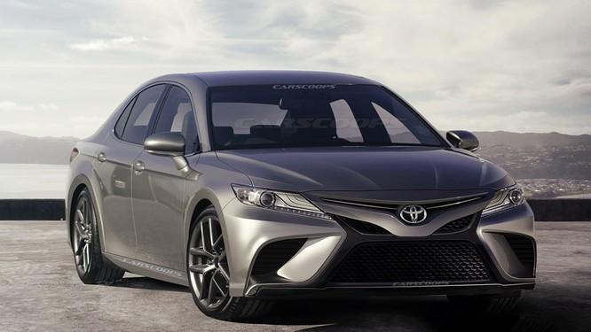 Thiết kế Toyota Camry 2018 sẽ bớt phần bảo thủ? ảnh 1