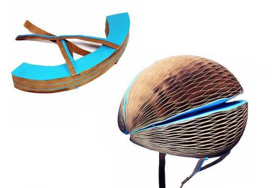 Video: Độc đáo mũ bảo hiểm xe đạp làm từ… giấy tái chế ảnh 1