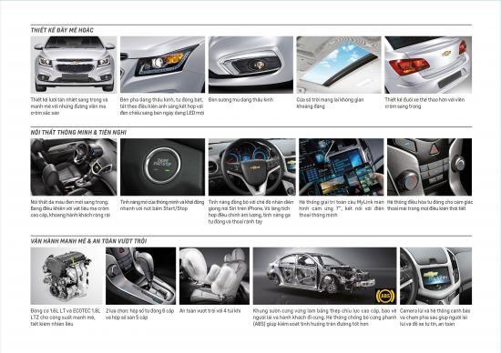 Chevrolet Cruze bản nâng cấp có giá từ 589 triệu đồng ảnh 1