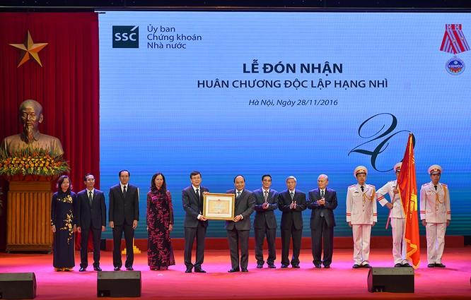 Thủ tướng nêu 6 nhiệm vụ trọng tâm của ngành chứng khoán ảnh 1